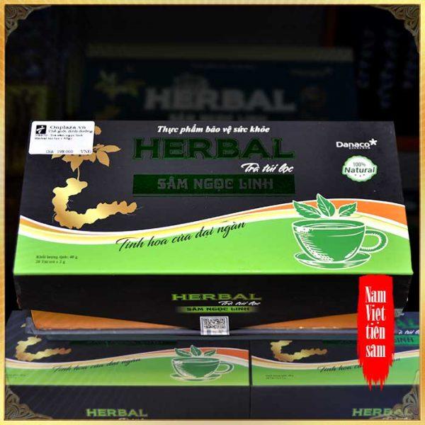 Trà sâm ngọc linh Herbal túi lọc (40g) NS670