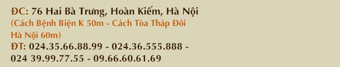 Số 76 đường Hai Bà Trưng, Quận Hoàn Kiếm, Hà Nội