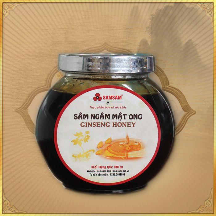 Sâm Ngọc Linh ngâm mật ong Gingseng Honey