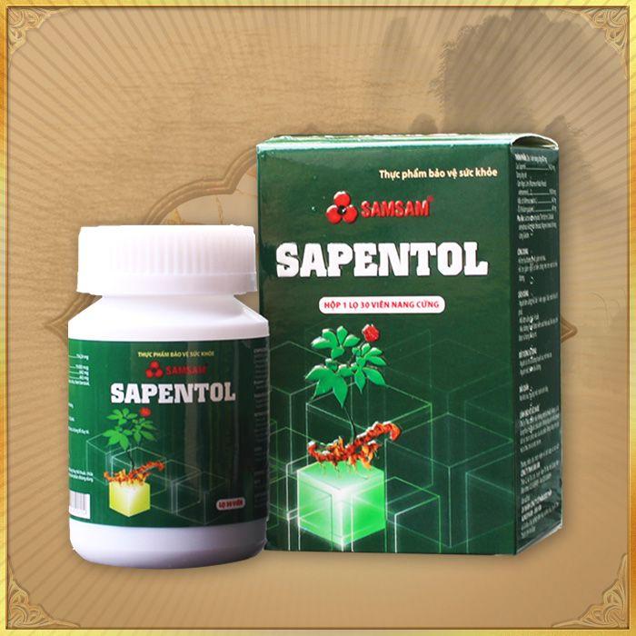 Thực phẩm bảo vệ sức khỏe Viên sâm Ngọc Linh Sapentol