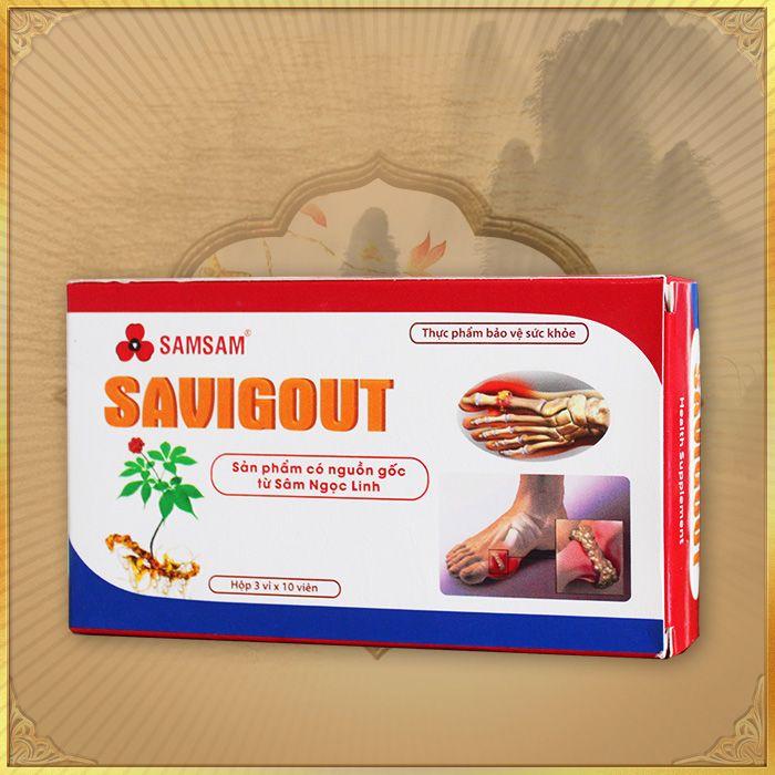 Thực phẩm bảo vệ sức khỏe Viên sâm Ngọc Linh Savigout