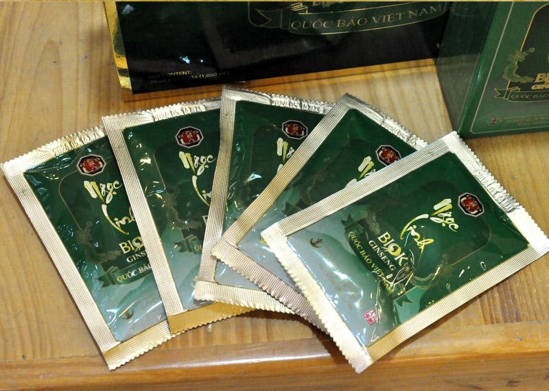 Tinh chất Sâm Ngọc Linh Kon Tum thượng hạng hộp 15 gói NS186 9